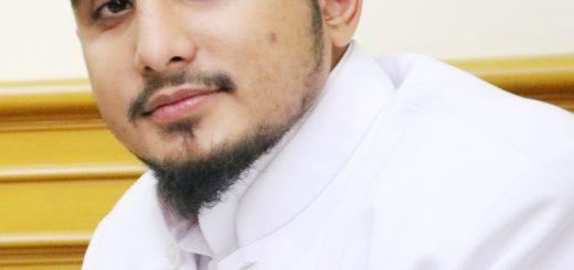 Habib Hanif Alattas mendukung sahabatnya, Foto Habib Hanif