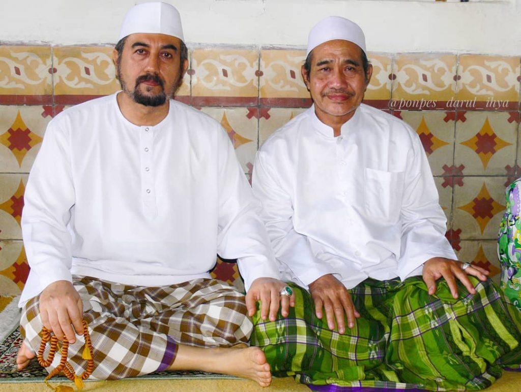 Habib Ahmad bin Husein Assegaf Bangil bersama Ust Nasihin Nur di Pon Pes Darul Ihya