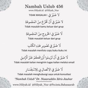 Uslub Bahasa Arab Dr Nasaruddin Idris Jauhar