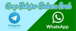 grup whatsapp belajar bahasa arab grup telegram belajar bahasa arab gratis
