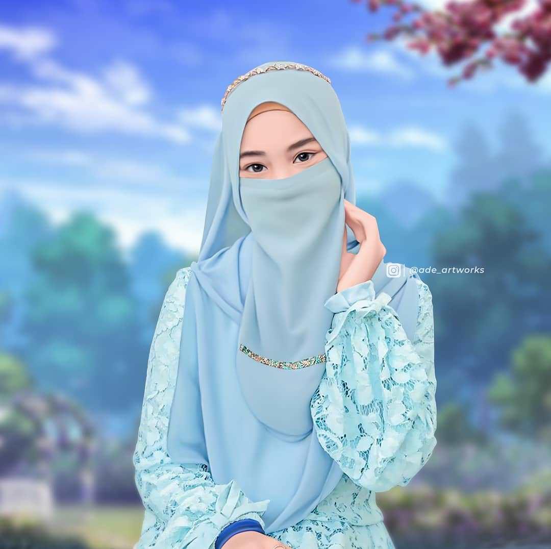Gambar Kartun Muslimah,Muslimah Cadar,Kartun Muslimah,gambar kartun muslimah,islamic pattern vector,islamic background vector,download vector islamic mosque free,islamic vector png, cartoon muslimah