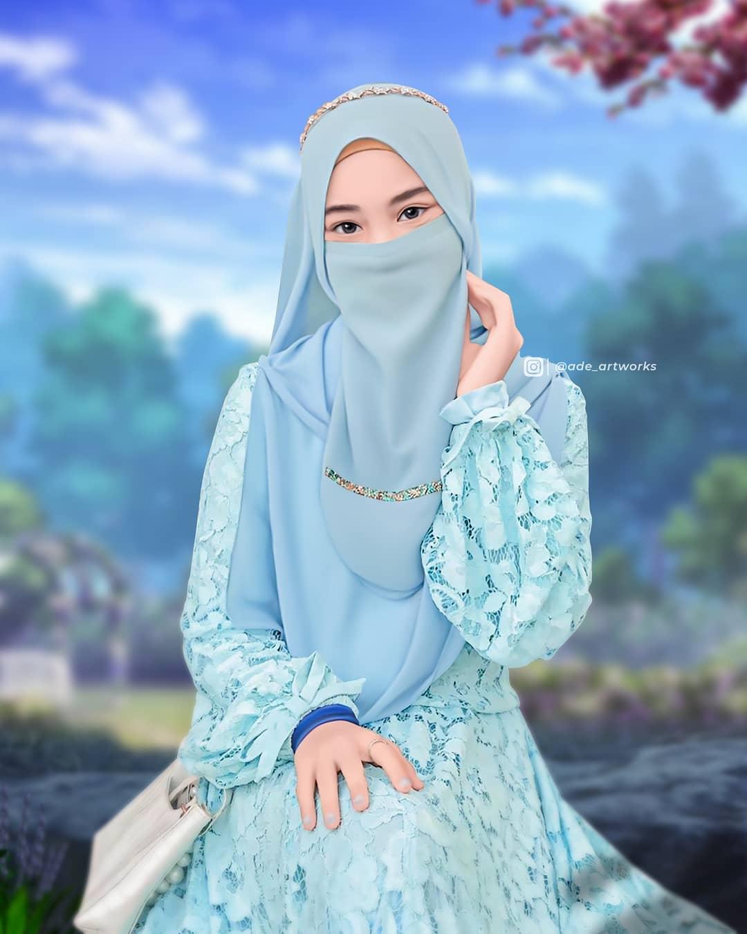 Gambar Kartun Muslimah,Muslimah Cadar,Kartun Muslimah,gambar kartun muslimah,islamic pattern vector,islamic background vector,download vector islamic mosque free,islamic vector png,
